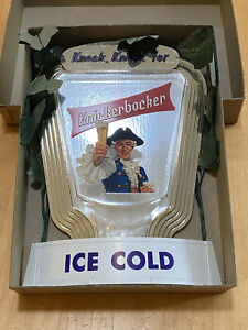 New old stock Knickerbocker beer sign - Never Used No Blemishes Rare Find!