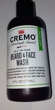 Cremo Beard and Face Wash - Mint Blend - 6oz ~ New/Sealed