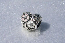 Authentic PANDORA POETIC BLOOMS, MIXED ENAMELS 791825ENMX Charm Bead