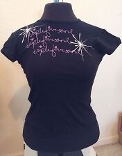 *~T5S*~Woman's T-shirt*~Triple Five Soul*~555*~short Sleeve*~Small*~Black*~