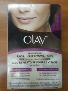 Olay Smooth Finish Facial Hair Removal Duo Medium to Coarse Hair Discontinued