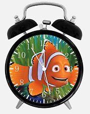 "Finding Dory Marlin Alarm Desk Clock 3.75"" Home or Office Decor E173 Nice Gift"