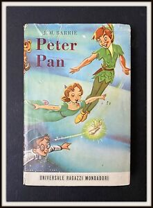 ⭐ PETER PAN primo libro italiano - Mondadori Disney 1953 - DISNEYANA.IT ⭐