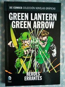Cómic DC GREEN LANTERN GREEN ARROW HEROES ERRANTES. Salvat ECC