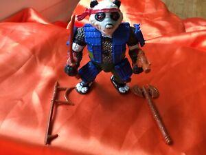 Playmates Panda Khan Action Figure Complete Tmnt Teenage Mutant Ninja Turtles