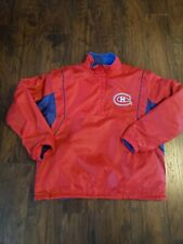 Montreal canadiens reversible Pullover jacket