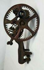 Antique 1878 READING HARDWARE CO Cast Iron APPLE PEELER Parer Hand Crank U.S.A