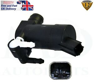FORD C-MAX FOCUS C-MAX FOCUS MK2 TWIN OUTLET WINDSCREEN WASHER PUMP 1355124