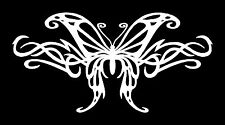 Tribal Butterfly Vinyl Window Decal Bumper Sticker