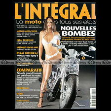 L'INTEGRAL N°15 HONDA VTR 1000 SUZUKI GSX 1400 BMWR 1150 GS DUCATI MONSTER 620