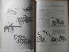 1939 AGRARIA AGRONOMIA AGRICOLTURA MEZZI AGRICOLI ATTREZZI COLTIVAZIONI ARATURA