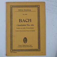 mini - pocket score BACH cantata 161