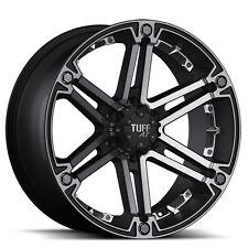 TUFF T01 8x16 5x139,7 Felgen für Dodge Ram Hemi 1500 Durango Offroad