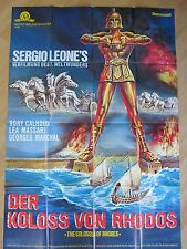 Filmposter * Kinoplakat * A0 * Der Koloss von Rhodos * WA 70er