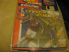 """OFFICIAL 1998 CRYSTAL PALACE MOUSE MAT MOUSEMAT+SCREENSAVER ON 3 1/2"""" FD."""