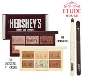[ETUDE HOUSE x NESTLE] HERSHEY'S Play Color Eyes Mini Kit Eyeshadow Palette SET