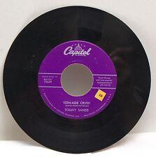 Tommy Sands - Teen-age Crush/Hep Dee Hootie  Capitol 45 vinyl