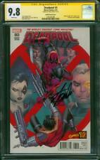 Deadpool 3 CGC SS 9.8 Stan Lee Signed X Force 2 Liefeld Homage 2016 Variant
