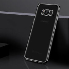 Ultra Slim Handy Tasche Schutz Hülle Dünn Case Cover TPU Bumper 9H Glas DECC