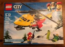 LEGO City Building Toy Ambulance Helicopter 60179 Building Kit (190 Pieces)