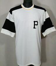 Vtg 1990s Pittsburgh Pirates Starter Jersey T Shirt MEDIUM Sewn MLB Color Block