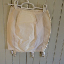 Vintage 0432 Gossard open bottom girdle w/ garters sz med