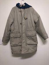 Mighty Mac Men's Winter Coat Jacket Hoodie Size 44 Beige
