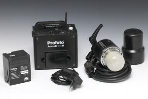 Profoto AcuteB 600R mit 2.Akku und AcuteB Blitzkopf