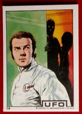 """UFO - """"LOOK BEHIND YOU, COLONEL FOSTER!"""" - Monty Gum (1970) - Card #14"""