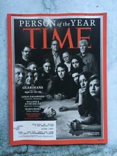 Time Magazine December 24/December 31, 2018 Person Of The Year Free Shipping