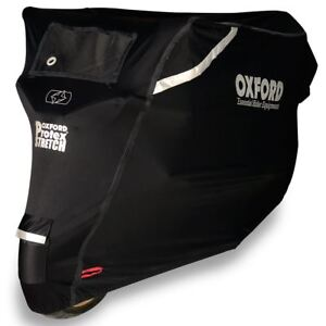 Oxford Protex CV161 Premium Stretch-Fit Outdoor Cover Medium - Motorcycle Bike