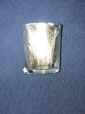 Yankee Candle Silver Fairy Frost Votive Holder
