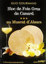 Pato con muscat vino Bloc foie gras canard Feyel original de Francia!
