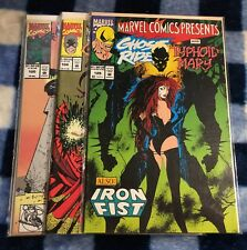 Marvel Comics Presents GHOST RIDER Comic Book Lot