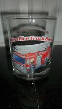 Hess Fire Truck Bank Gas Station Glass Tumbler 1996 Classic Collector Firetruck