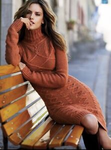 Victoria's Secret Moda International Sweater Dress