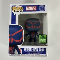 Funko Pop! Spiderman 2099 #761 ECCC Shared Exclusive Marvel Spider-Man In Hand!