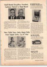 1966 PAPER AD Topper Toys Tickle Tears Baby Magic Doll Cry 'N Wet Mini Cooper