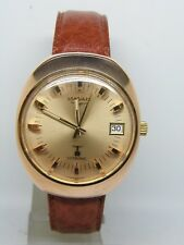 Montre LONGINES ultronic plaqué or rose vers 1970 vintage longines