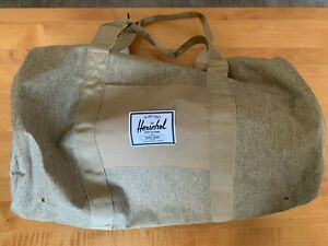 BRAND NEW  |  HERSCHEL SUPPLY CO. Sutton Mid-Volume Duffle Bag, Kelp/Lt. Brown