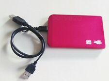 "200 GB external Portable 2.5"" USB 2.0 hard Drive HDD POCKET SIZE RED New"
