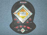 1999 MONOPOLY JACKPOT HANDHELD ELECTRONIC SLOT MACHINE GAME BY HASBRO - NICE