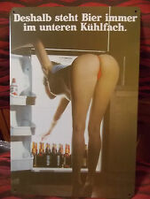 german beer   tin metal sign MAN CAVE brand new or for the  bar
