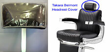 Headrest Cover Clear Vinyl (Takara Belmont BB225 Elegance Barber Chair)