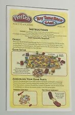Play-Doh Toy Time Race Game-Replacement Parts And Pieces-Molds,Gears EUC Clean
