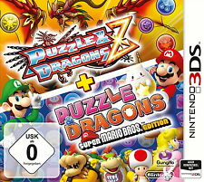 Puzzle & Dragons Z + Puzzle Dragons Super Mario Bros. Edition - 3DS - Neu / OVP