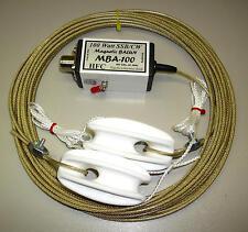 MBA-100 G Cavo antenna 12,5 m con 100 Watt Balun