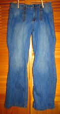 Thre3 Jeans womens size 14 blue jeans w 34 L 31 Hip 41 used