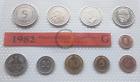 Münzen Mark Packen Deutschland Jahr 1982 G Bundesrepublik Mint Set Stempelglanz