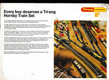 Tri-ang HORNBY Train Set Catalogue - OLD and Missing Front and Back cover